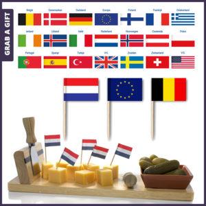 Grab a Gift - Kaasprikkers Paryprikkers met Valggetje van Nederland belgie Europa