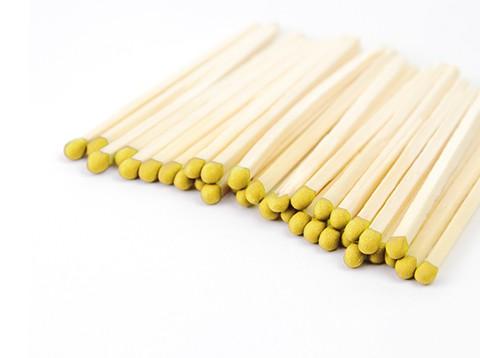 Grab a Gift - gele lucifers in bedrukt luciferdoosje