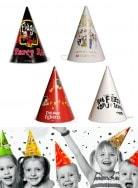 Grab a Gift - Bedrukte feesthoedjes van karton