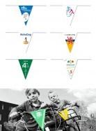 Grab a Gift - Bedrukte fietswimpels van kunststof