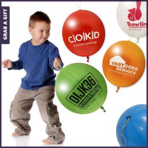 Grab a Gift - Boksballonnen bedrukken met logo