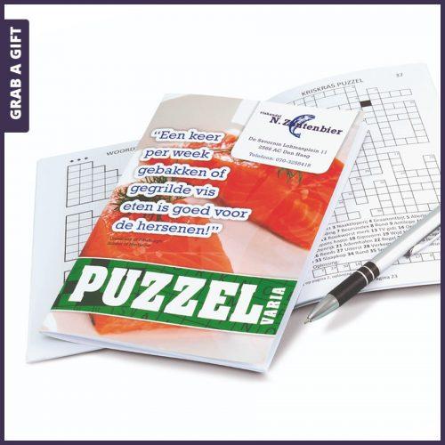 Grab a Gift - Puzzelboekjes Full Colour bedrukken