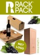 RACKPACK TRAY CHIQUE Dienblad en wijnkist in één