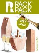 RACKPACK Way Cooler Wijnkist met logo Gravure