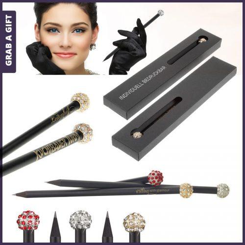Grab a Gift - Glamour potloden bedrukken met logo