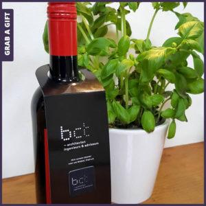 Grab a Gift - Sticky Cleaner bedrukken met logo op flessenhalshanger