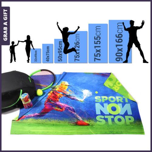 Grab a Gift - Microvezel handdoeken bedrukken met logo