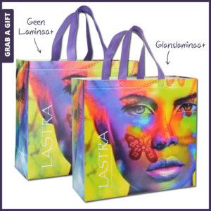 Grab a Gift - LASTRA boodschappentas met allover FC bedrukking