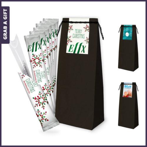 Grab a Gift - 7 bedrukte biologische theestaafjes in TeaBag