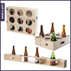 Grab a Gift - Beer Gear van RackPack graveren met logo