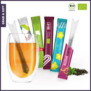 Grab a Gift - T-Sticks TeaSticks Theestaafjes bedrukken met logo
