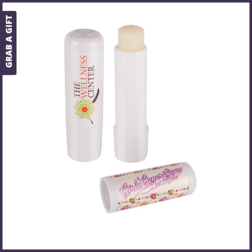 Grab a Gift - Lippenbalsem in stick met Full Colour Etiket
