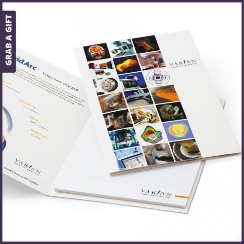 Grab a Gift - A5 schrijfblok met cover bedrukken