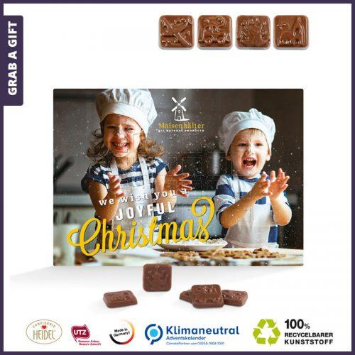 Grab a Gift - Advent wandkalender bedrukken met logo en reclameboodschap