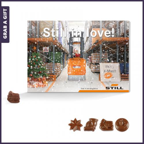 Grab a Gift - Advent wandkalender klassiek volledig bedrukken