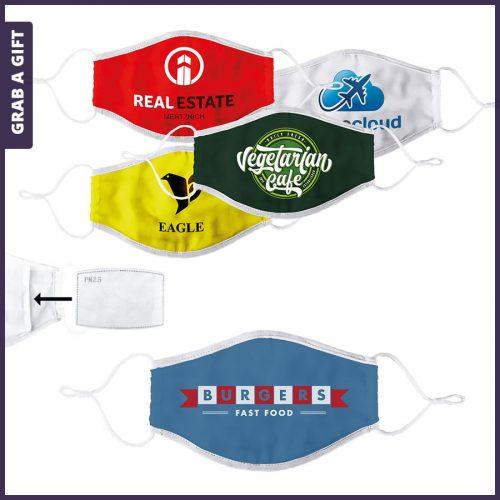 Grab a Gift - Corona mondmaskers bedrukken met logo