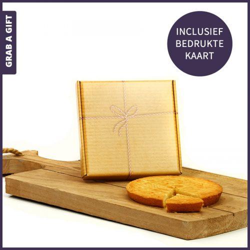 Grab a Gift - Taartjes per post versturen in postgeschikte doos